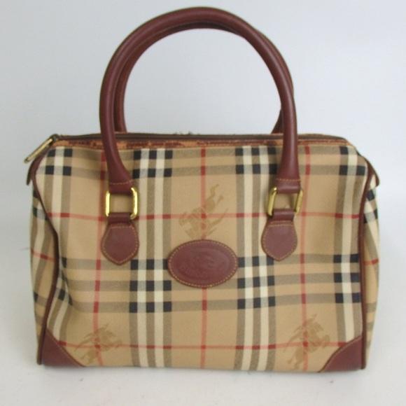 d5d4b8dc560c Burberry Handbags - Authentic Vintage BURBERRYS nova check Handbag